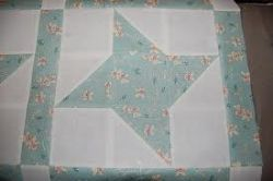 The quilt block shown on this page is the Friendship Star and one of my favorites.