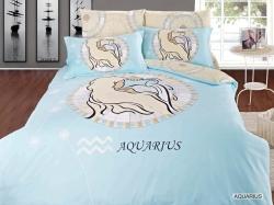 Aquarius Zodiac Duvet Bedding Set