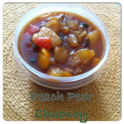 Peach Pear Chutney Recipe