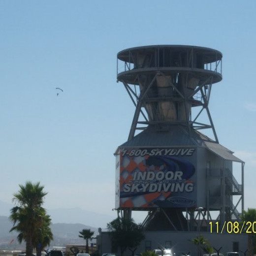 The Perris Airport is well known for it's skydiving.