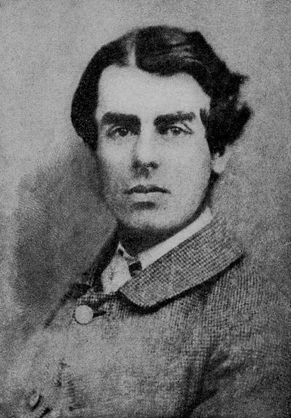 Samuel Butler, aged 23 (public domain image)