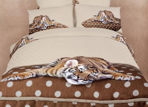 Sleepy Tiger Duvet Cover Set