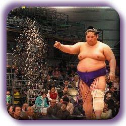 Sumo ritual by Fabien