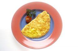 A plain omlette