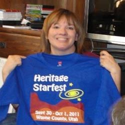 Heritage Starfest shirt from 2011 event