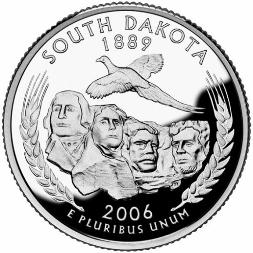 Official South Dakota quarter