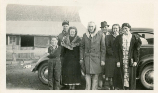 Paul Kinnick Family in 1938