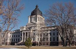 South Dakota State Capital in Pierre