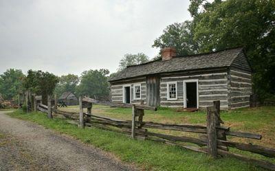 Lincoln Log Cabin State Historic Site, near Charleston, Illinois
