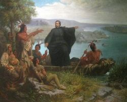 Pere Marquette and the Indians
