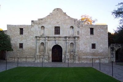 Mission San Antonio aka the Alamo - perhaps the most recognizable landmark in Texas