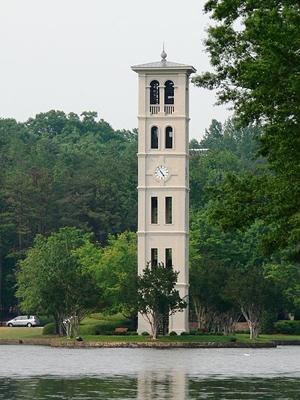 Furman University Bell Tower, Greenville