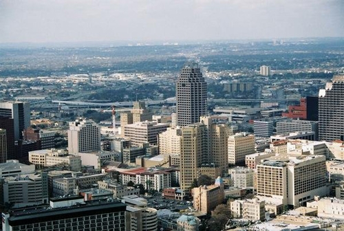 Skyline of San Antonio