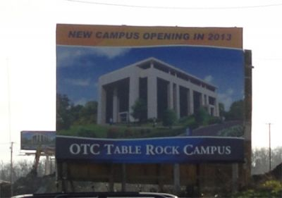 Architect rendering of the Table Rock Campus building when completed
