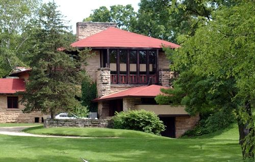 Frank Lloyd Wright's Taliensin in Spring Green, Wisconsin. Visit other Frank Lloyd Wright designs across the state, as well.