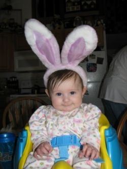 Grand-daughter Easter Bunny