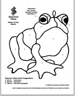 Frog Pattern from Spectrum