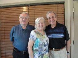Bill Smith, Kinnick cousin Gail Payne, husband Bill Payne