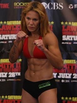 Cris Cyborg - Female MMA Fighter