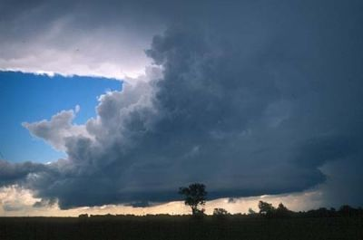Cumulonimbus clouds in Oklahoma - is this what you are looking for to break the heat?