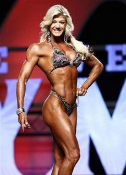 Holly Beck - female fitness figure