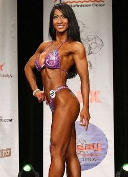 Ann Pratt - figure competitor