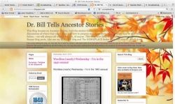 Dr. Bill Tells Ancestor Stories
