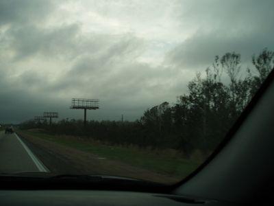Months of Burning Debris After Hurricane Katrina