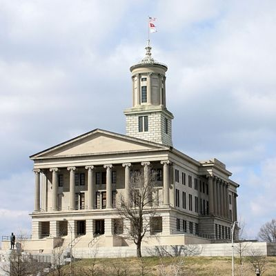 Tennessee State Capital in Nashville