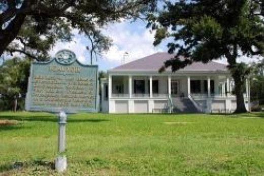 Restored Beauvoir, home of Jefferson Davis