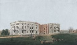Image of White House in 1814