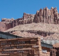 Capital Reef National Park - part of the Mormon Pioneer NHA