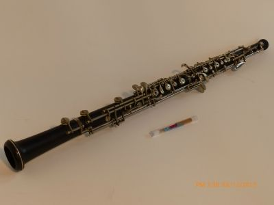 The Oboe is also a double reeded