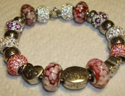 Murano glass bead have become popular for Pandora Bracelets