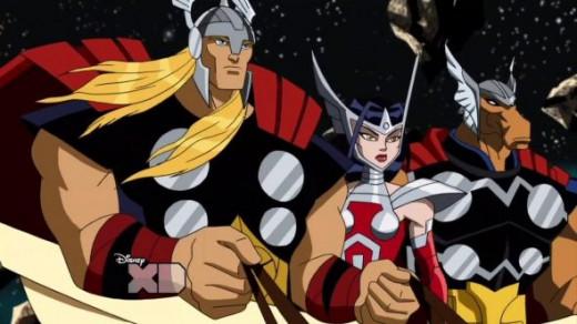 Beta Ray Bill-Thor-Avengers