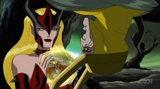 The Avengers-The Enchantress-Loki