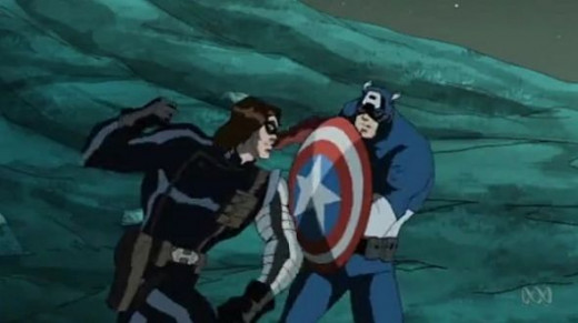 The Avengers-winter soldier-captain america