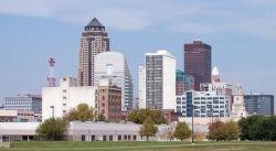 Des Moines, Iowa, skyline - the capital city