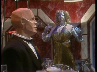 "Kryten a mechanoid recused from ""Novas"" where he served a dead crew for 1 milion years."