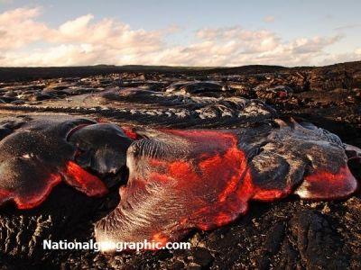 Pahoehoe Lava, Hawaii