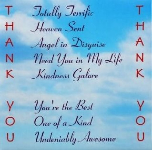 Thank You Fridge Magnet - A small gift idea