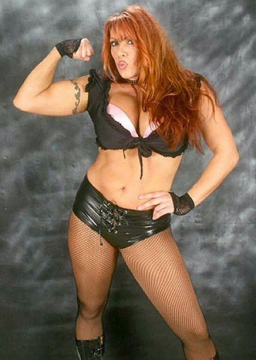 Indy Wrestler, April Hunter