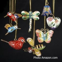 A Beautiful Cloisonne Christmas Ornament For A Memory Filled Holiday