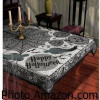 Decorate  For The Holiday With Halloween Tablecloths and Decorations