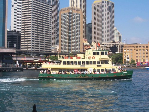 Sydney Ferry at Circular Quay