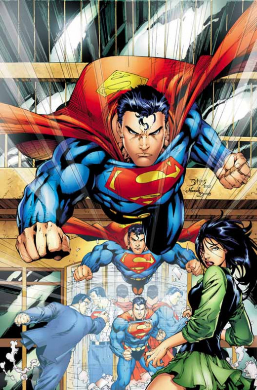 Here is one of my favorite cover art for the original comic book of this graphic novel featuring on the cover of Superman #225