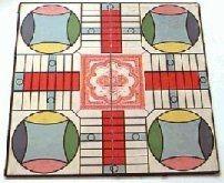 Parcheesi Game Board 1934