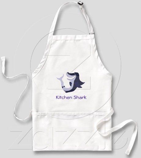 http://www.zazzle.com/kitchen_shark_6_aprons-154303275264377383