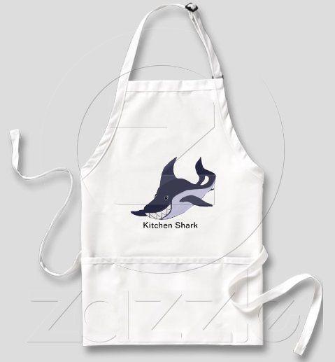 http://www.zazzle.com/kitchen_shark_1_apron-154685578812894845