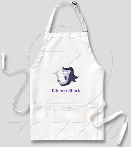 http://www.zazzle.com/kitchen_shark_6_aprons-154303275264377383